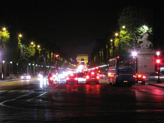Arc de Triomphe from Place de la Concorde