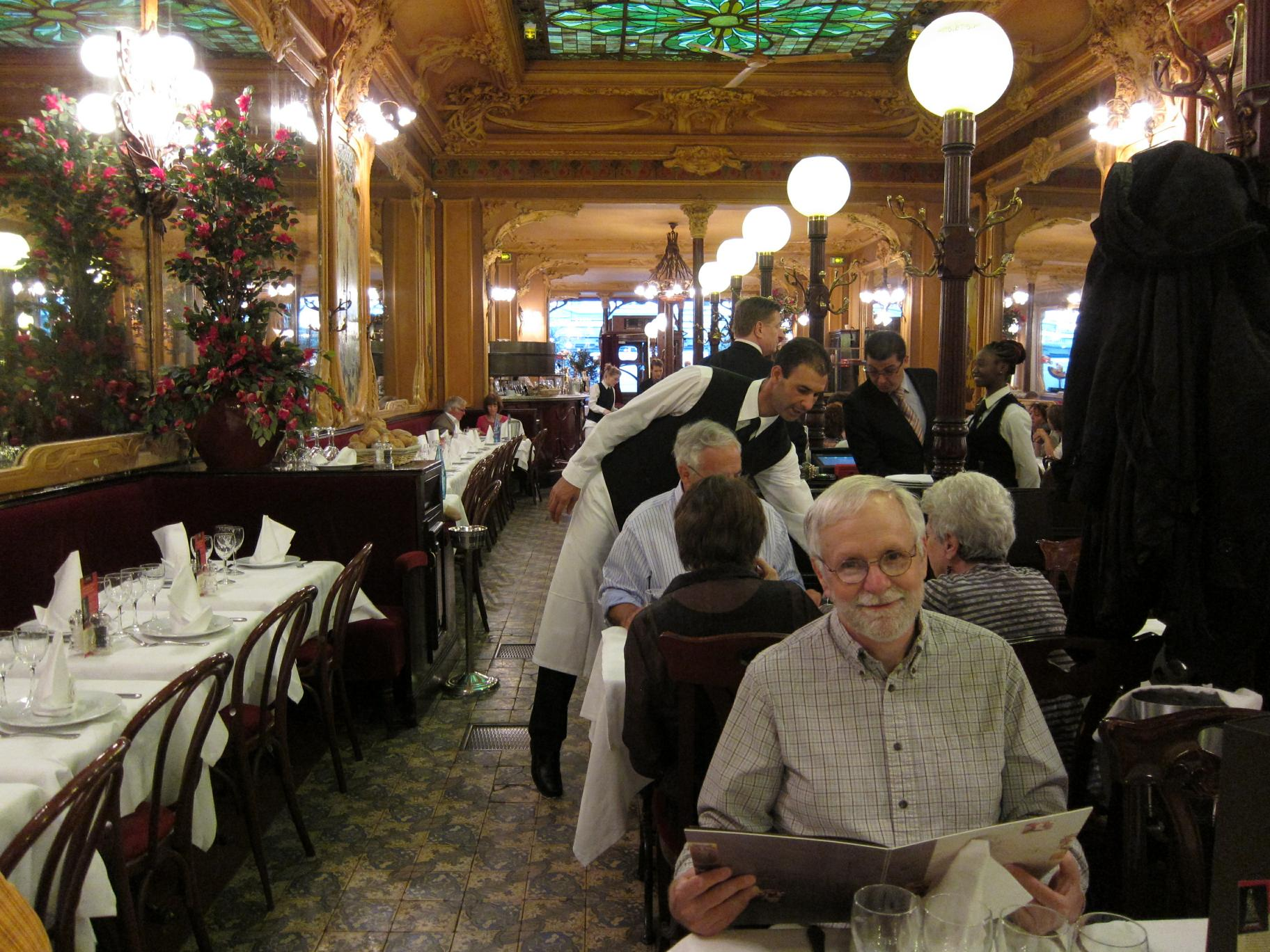 Bob at Brasserie Julien