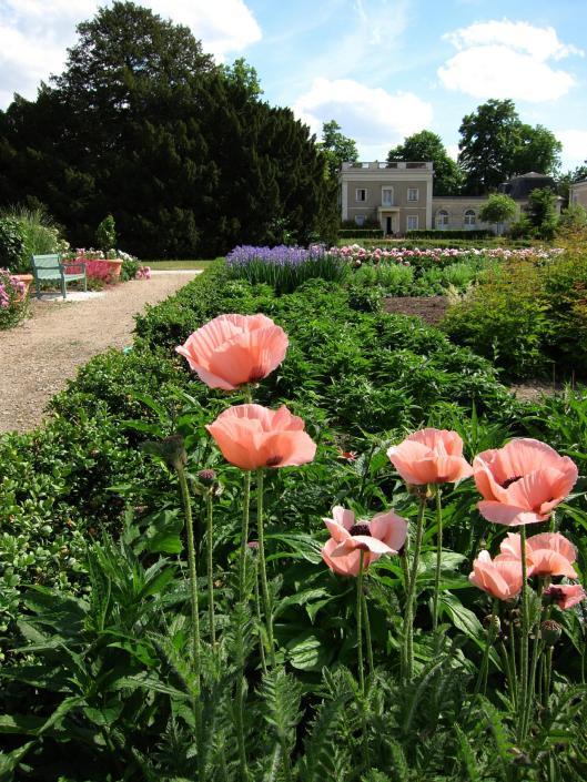 Chateau-des-Champs Flower Garden
