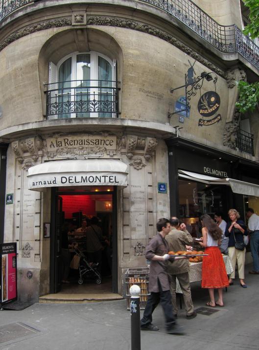 Delmontel Boulangerie, rue des Martyrs