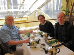 Bob, Alan and Ryan at Mariage Frères