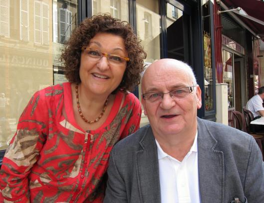 Dominique and François Pouchin