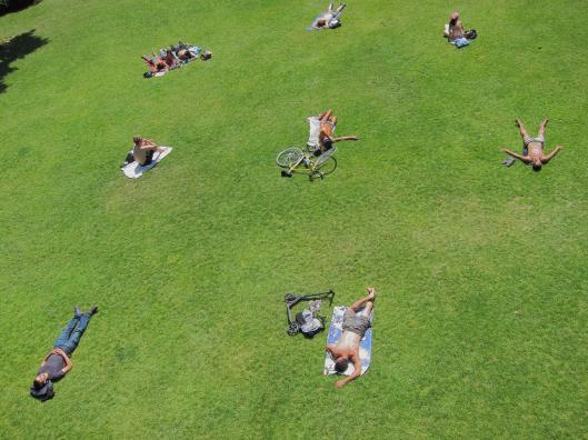 Parc de Reuilly Sunbathers