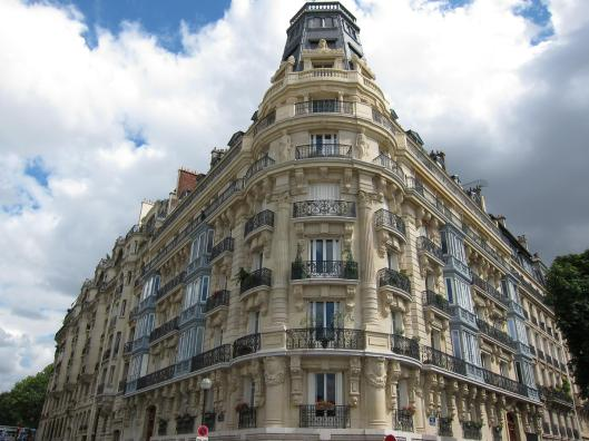 Apartment Building on rue August Comte