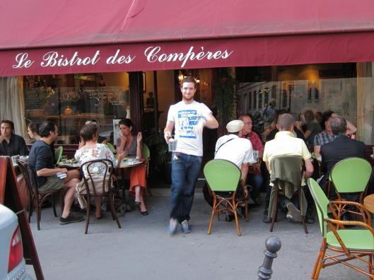 Kevin at Le Bistrot des Compères