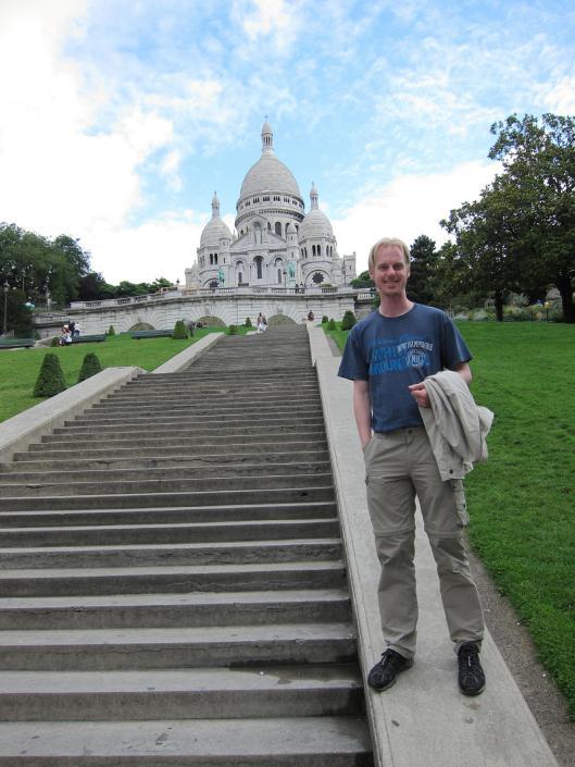 Michael at Sacré Coeur