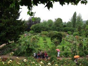 Monet Garden from Window of House