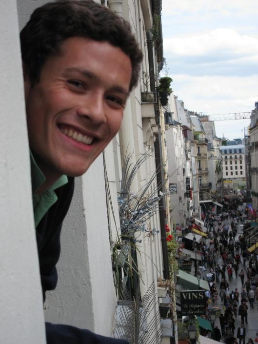 Nick and rue Montorgueil