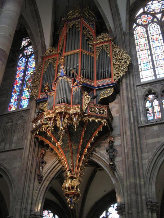 Organ, Notre Dame Cathedral, Strasbourg