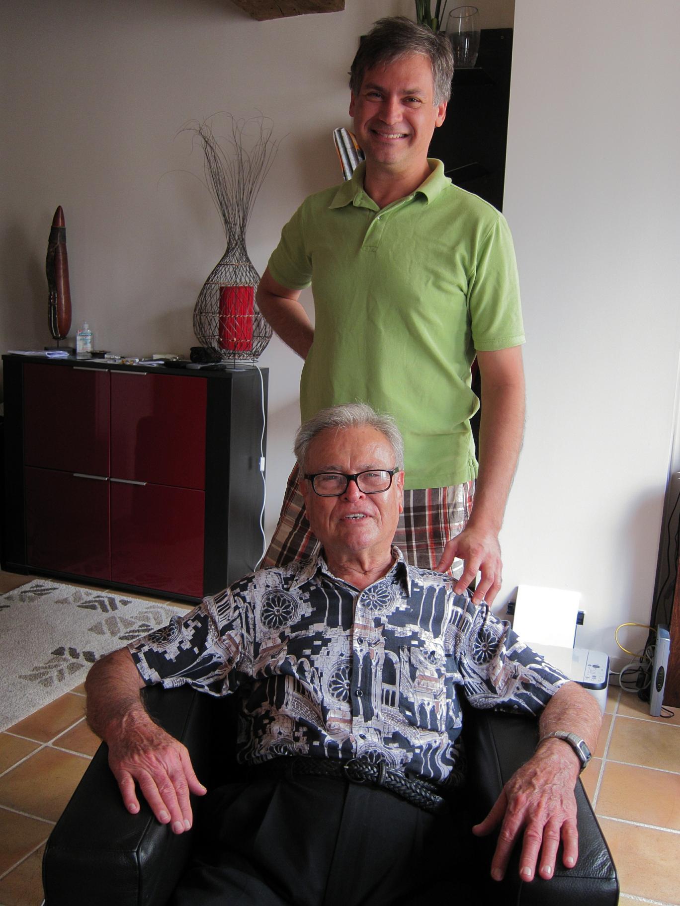 Rafael and Dad