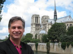 Rafael with Notre Dame