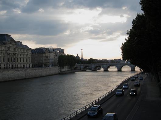 Seine Near Dusk