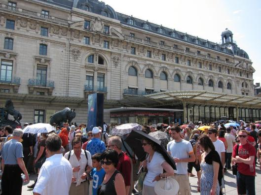 The Line at Musée d'Orsay