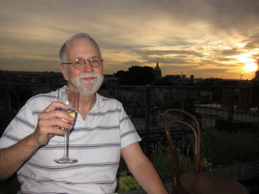 Bob on Antoine's Roof Deck