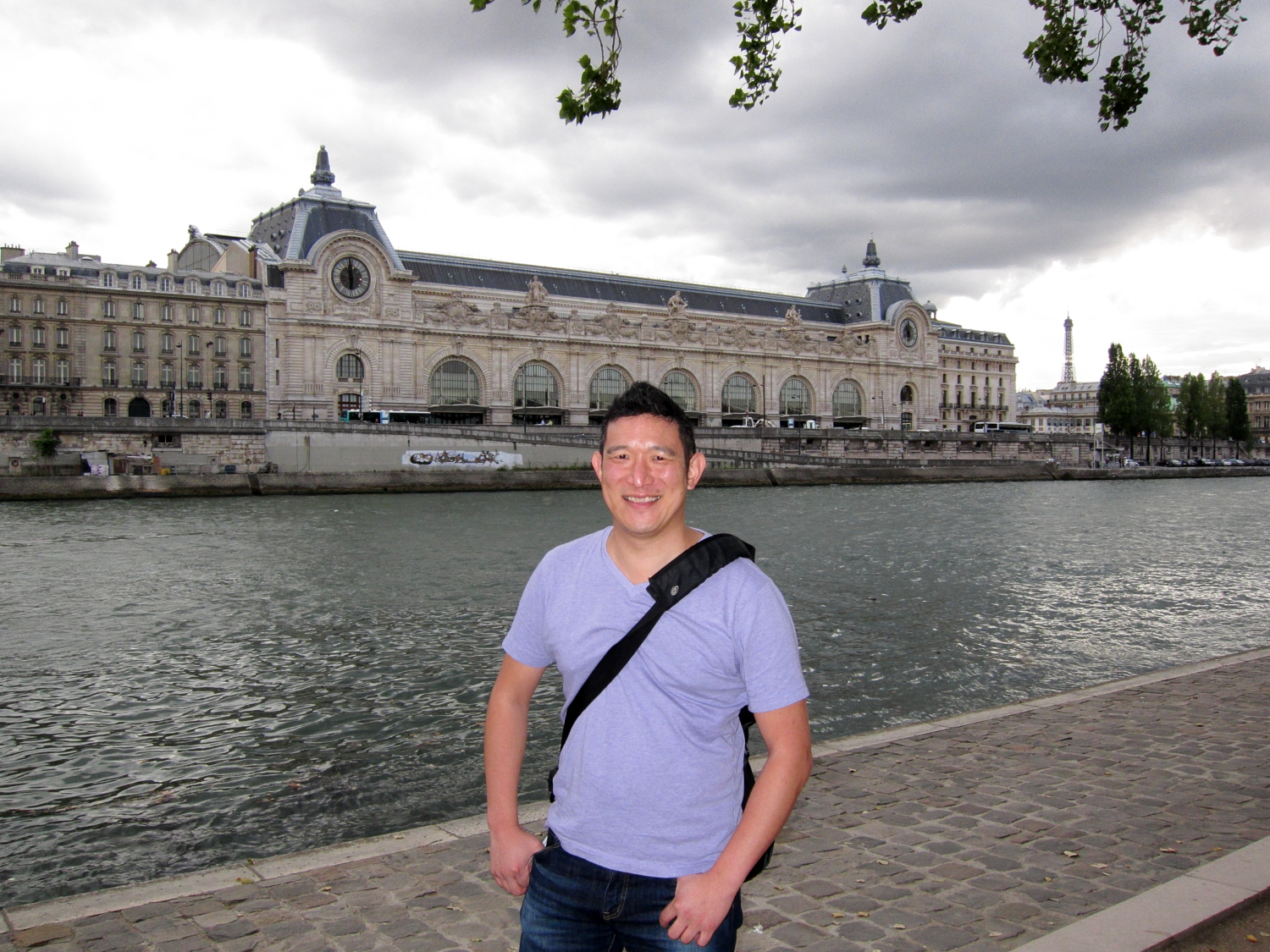 Gerry with the Musée d'Orsay