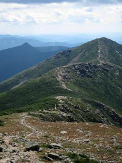 Mts. Liberty and Flume, Franconia Ridge, White Mountains, New Hampshire.