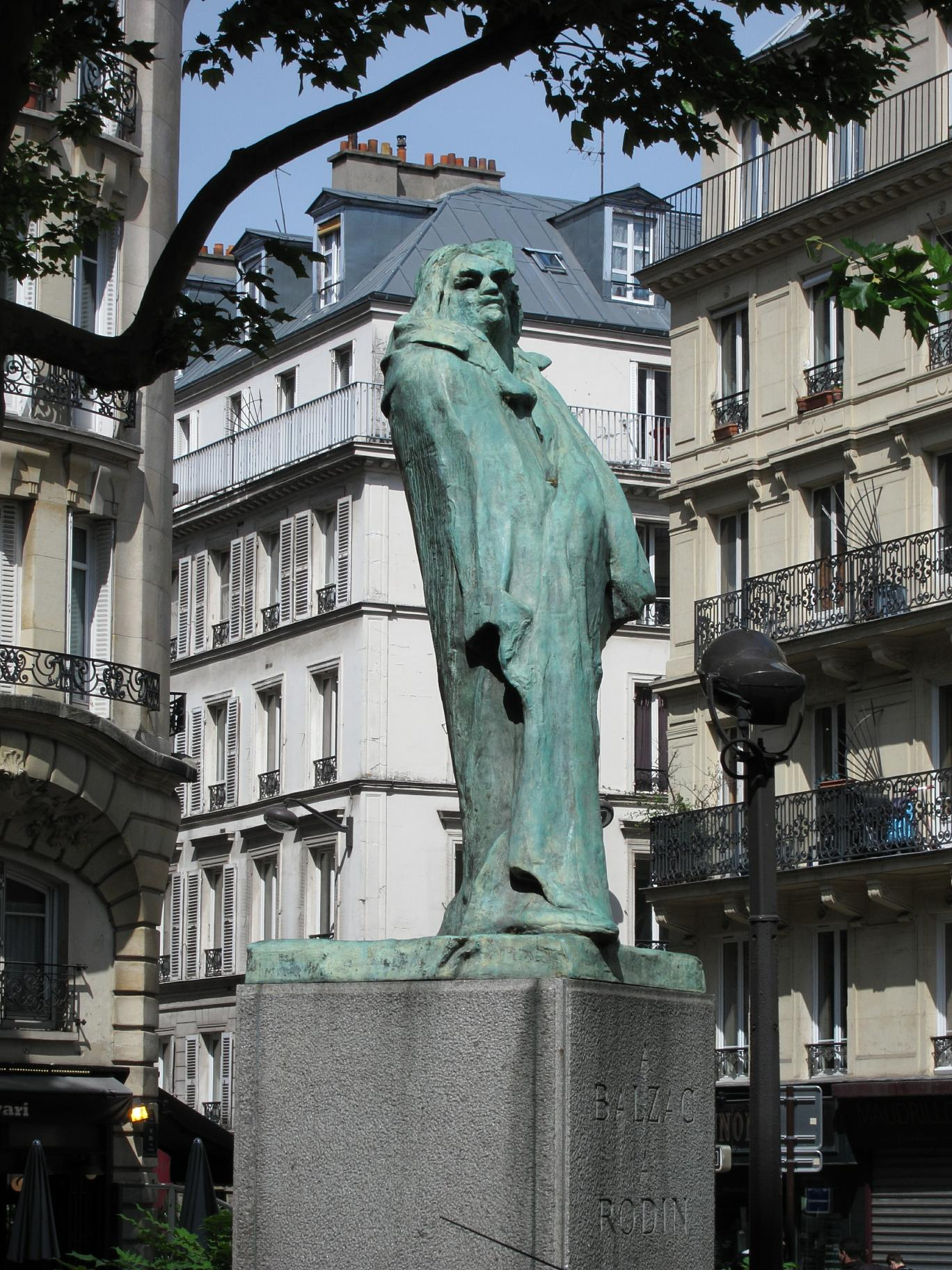 """""""To Balzac. To Rodin."""" I think they would both have enjoyed the setting."""
