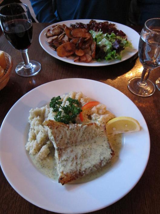 Dinner at L'Absinthe Café with Brian