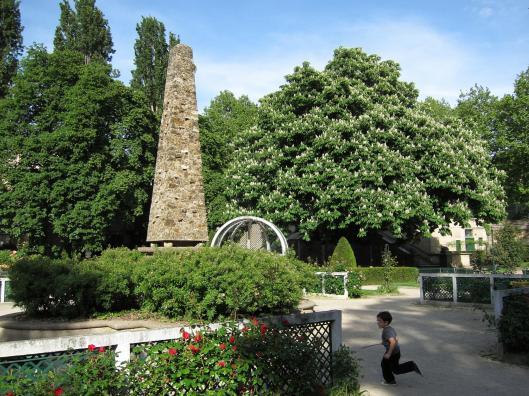 Le square René-Le Gall ou jardin des Gobelins.