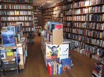 Inside Berkeley Books.