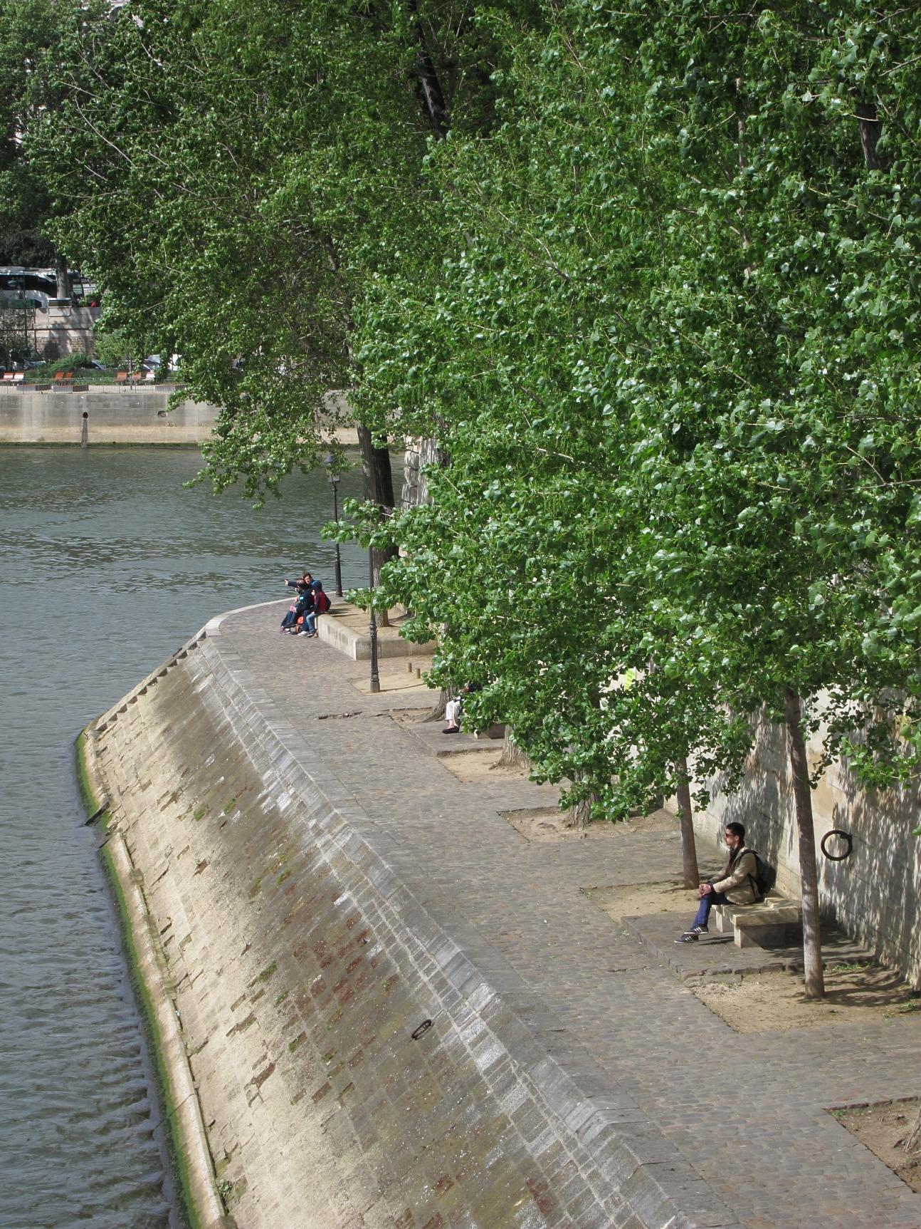 Solo in Paris.