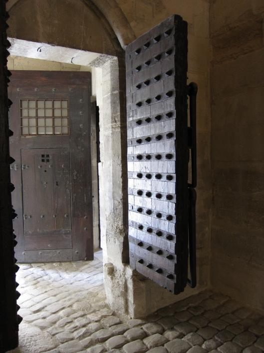 Donjon of the Château de Vincennes (detail).