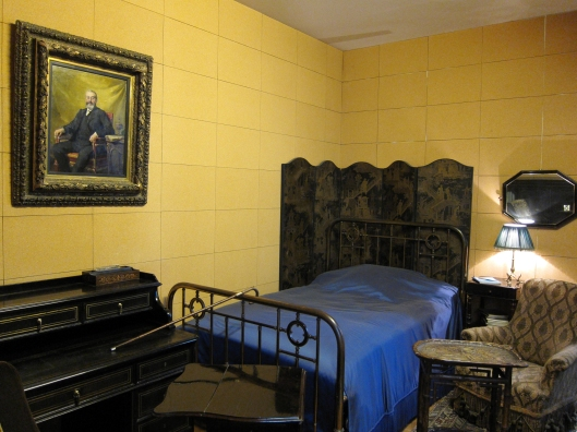 Marcel Proust's cork-lined room at Musée Carnavalet.