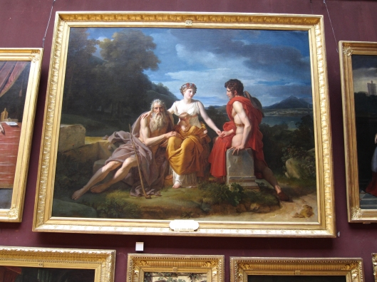 The Three Ages of Man at the Château de Chantilly.