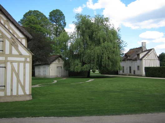 Le Hameau (the hamlet) at the Château de Chantilly.