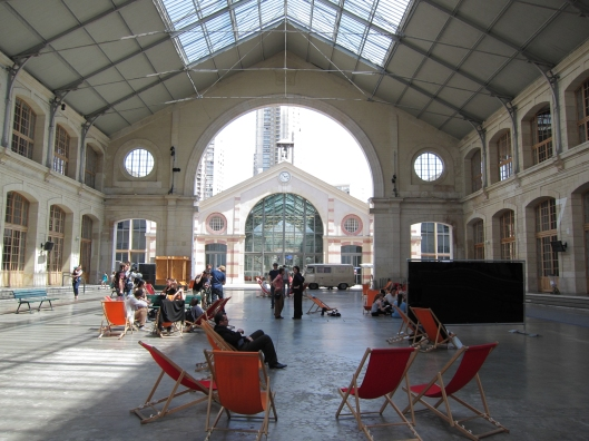 """Interior"" view of Centquatre (104)."