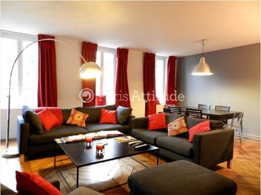 2015 Paris Apartment Living Room