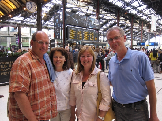 We set out from the Gare de Lyon.