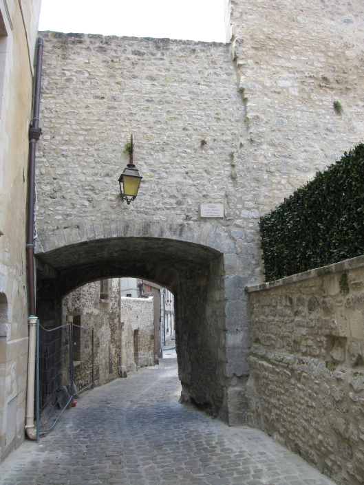 A gate through the 3rd century Gallo-Roman wall. You don't see anything this old in Paris except perhaps in the basement of the Musée de Cluny.