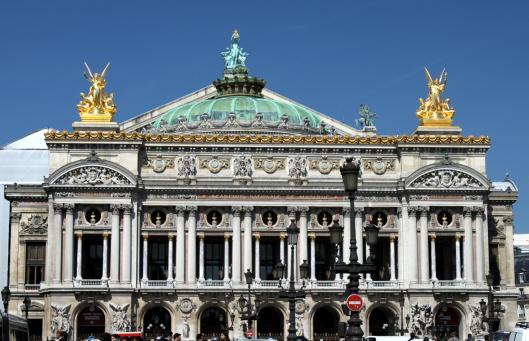 Palais Garnier (on a sunny day in 2010)