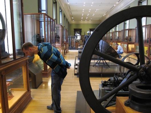 Matt and Chris at le Musée des arts et métiers.