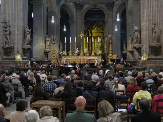 Yale/Julliard concert at Saint-Sulpice, with Allen Hamrick on bassoon.