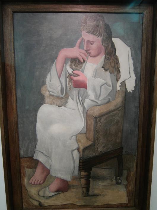 La Liseuse (the reader), 1920, Pablo Picasso, Pompidou Museum