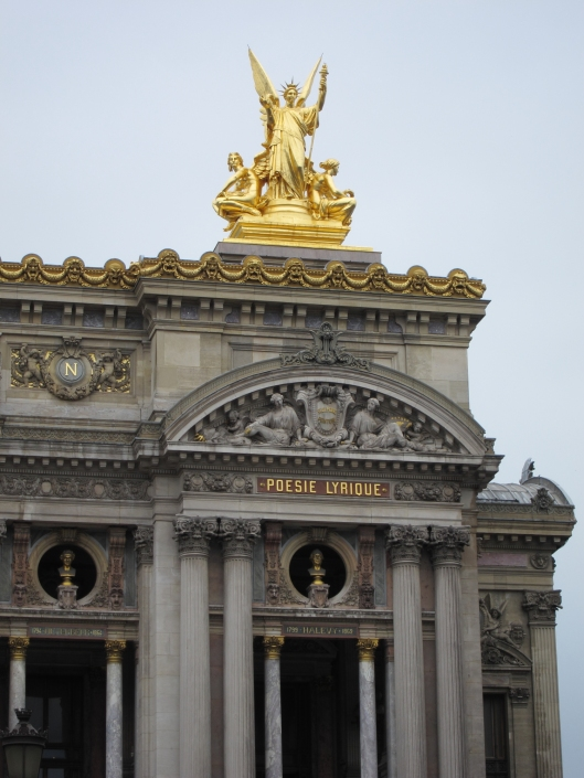 Palais Garnier, exterior detail.