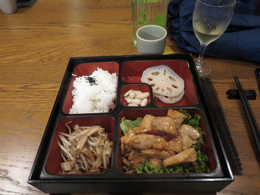 Bento box at Foodi