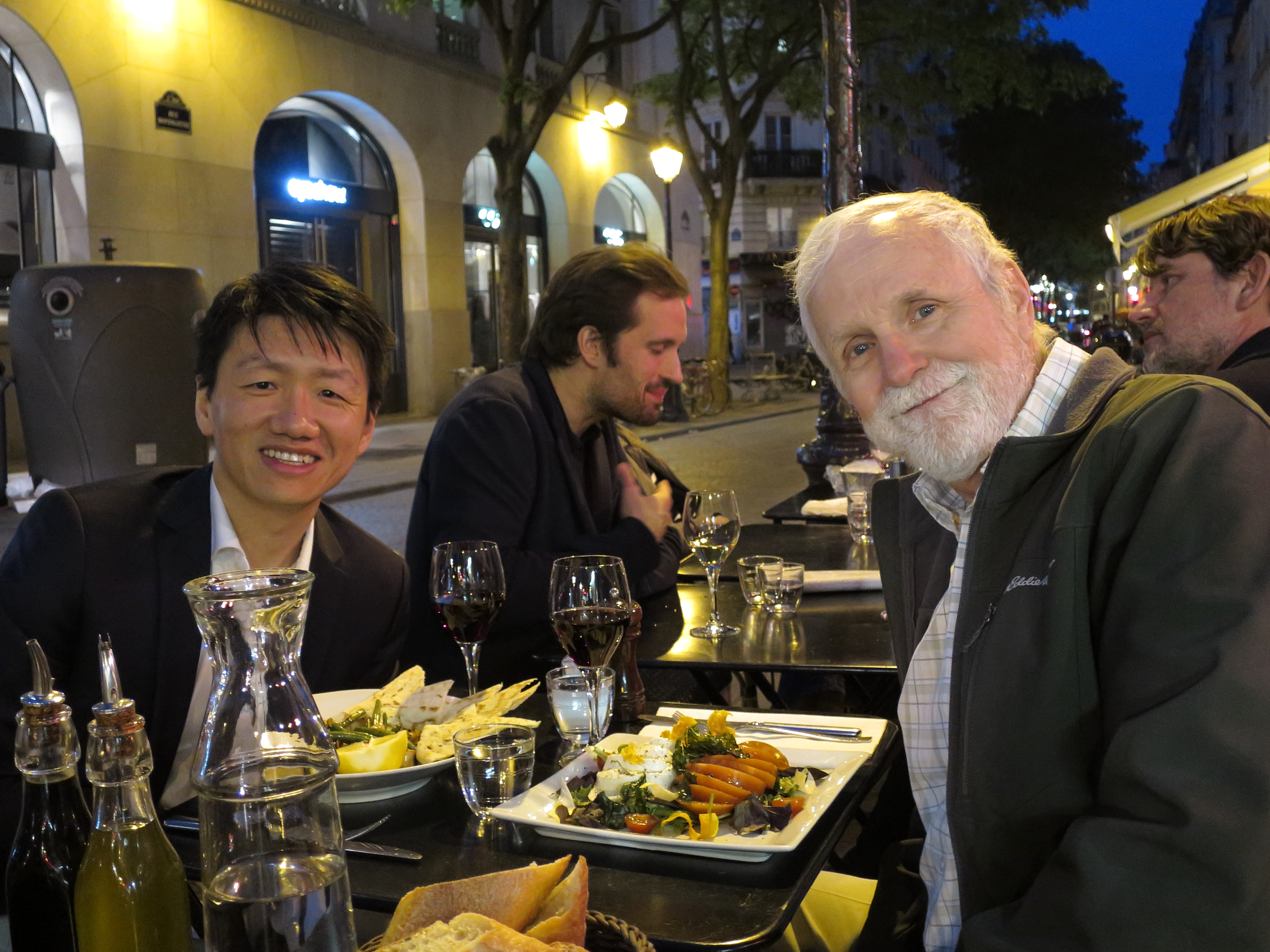 Zhizhong and me at La Bocca