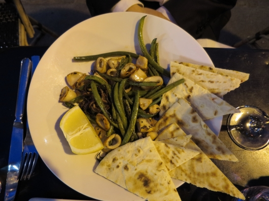 Probably the best calimari I have ever eaten, paired beautifully with haricots verts.