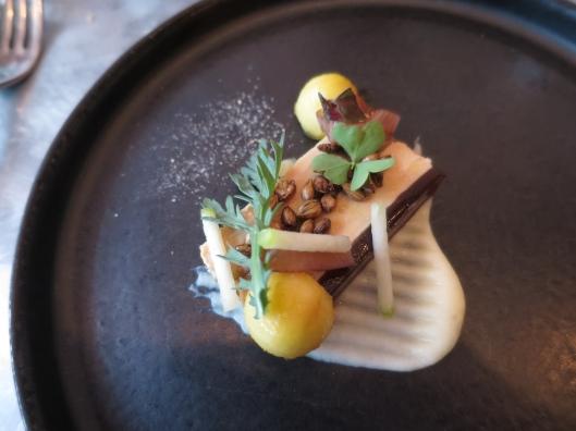 Paté de foie gras course