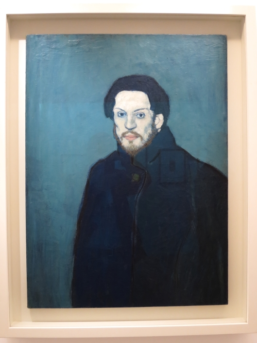 Self Portrait, Blue Period (1901)