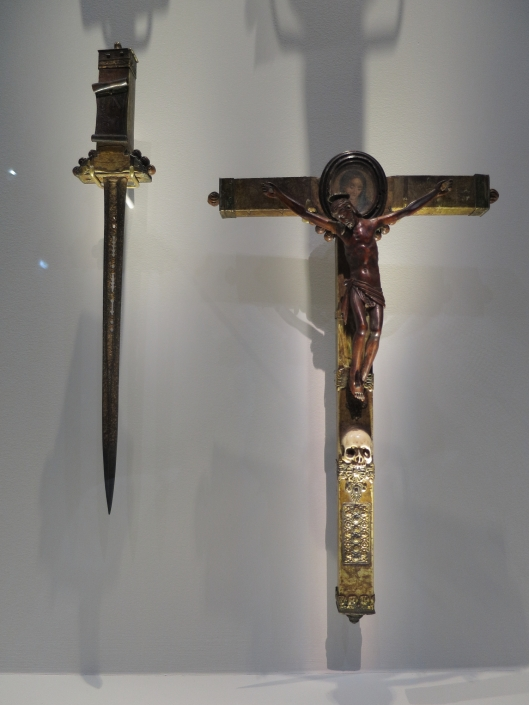 What churlish TSA officer would stop you from taking your crucifix on board? Ooops...
