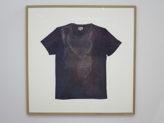 Sudarium, 2013-16, Julien Fargetton at the Salon de Montrouge