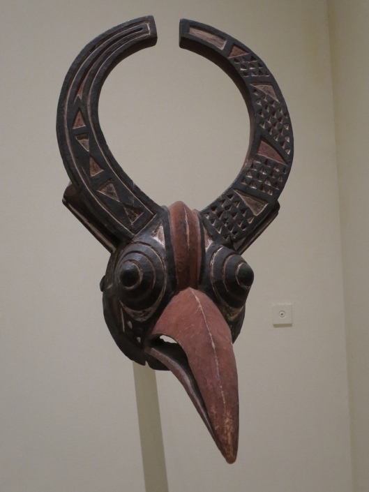 Mask, Population Krou, Ivory Coast, end of 19th century, Musée du quai Branly