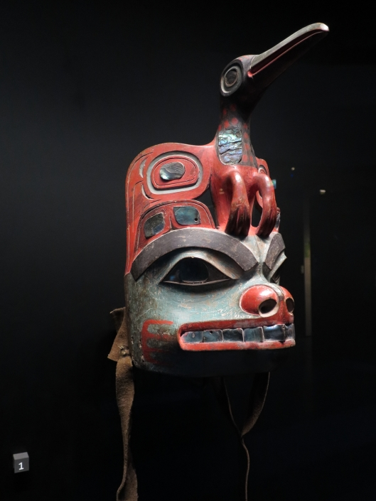 Clan headdress, Population Tlingit, Alaska, 1860-70, Musée du quai Branly