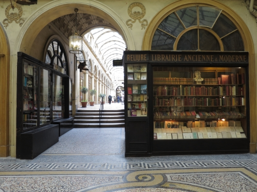 Bookshop in the Galerie Vivienne.