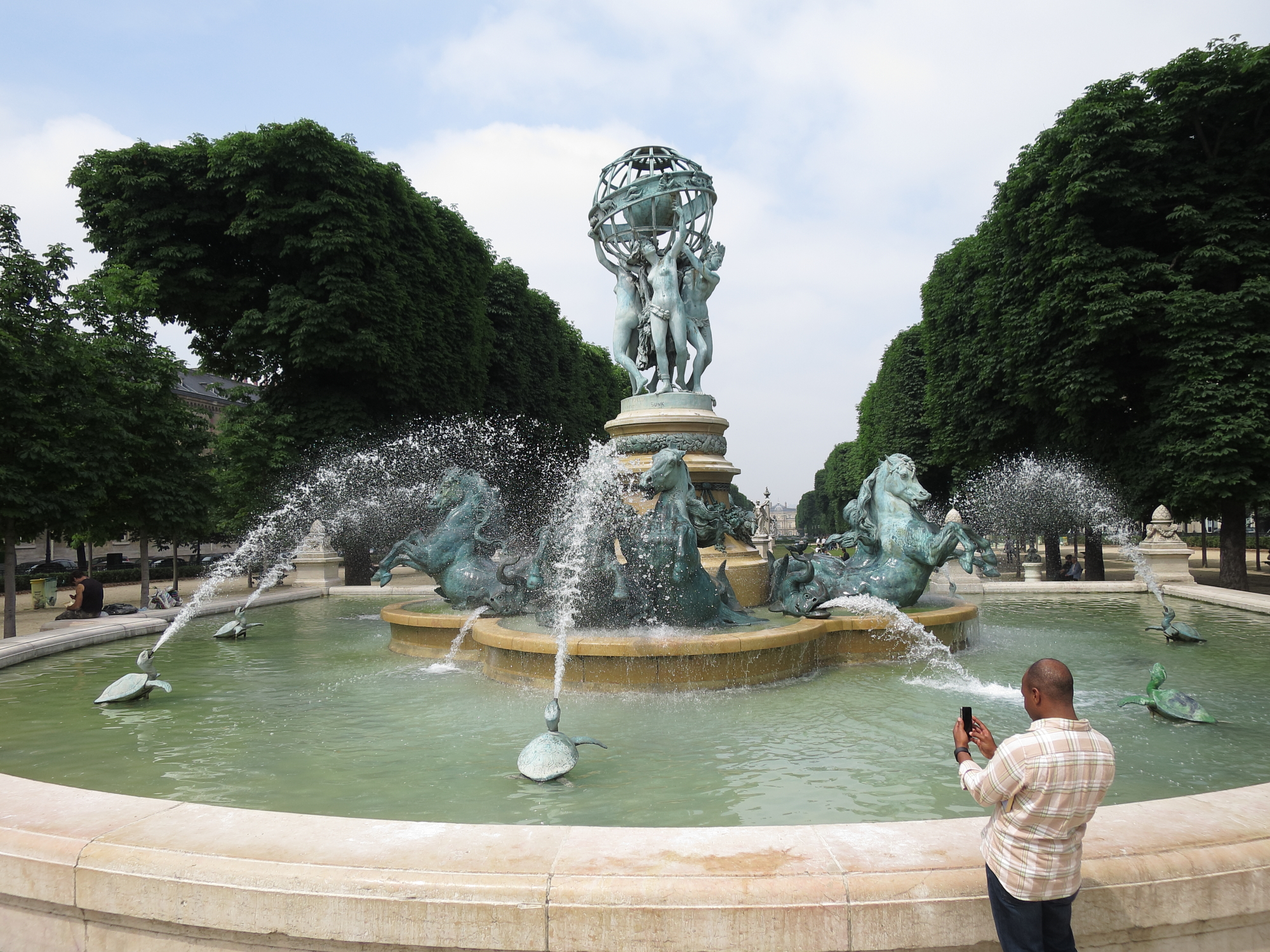 Fontaine de l'Observatoire of the Jardin du Luxembourg