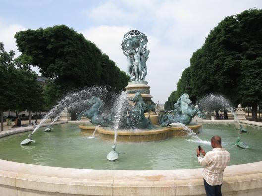 Fontaine de l'Observatoire of the Jardin du Luxembourg